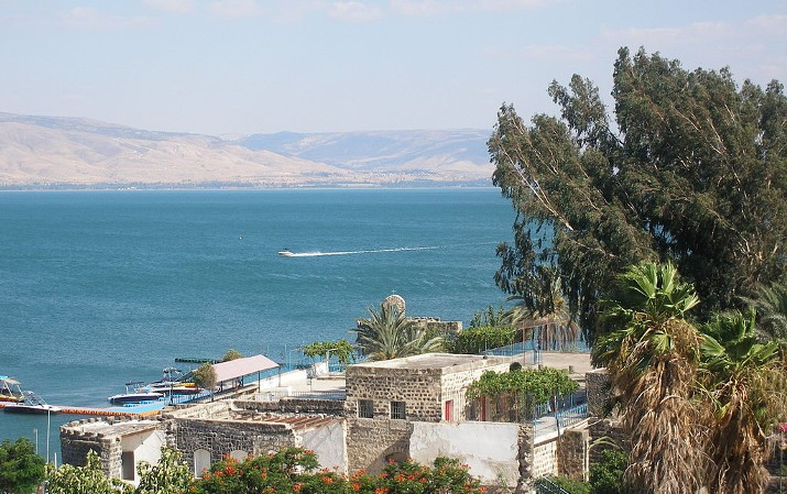 walk on water - sea of galilee