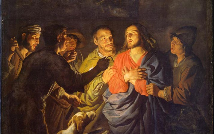 Image result for arrest of jesus