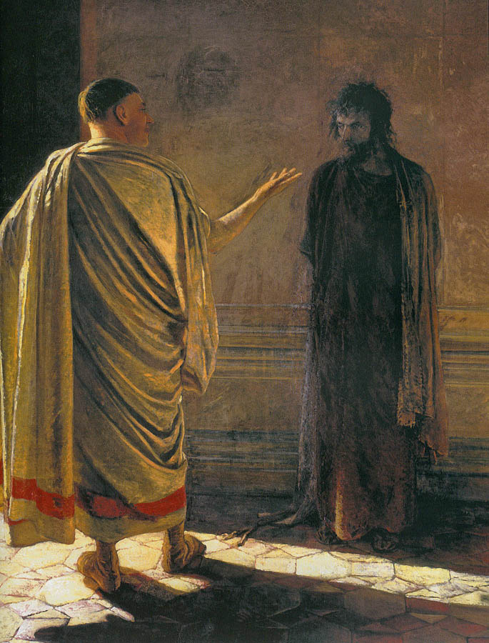Pontius Pilate and Jesus