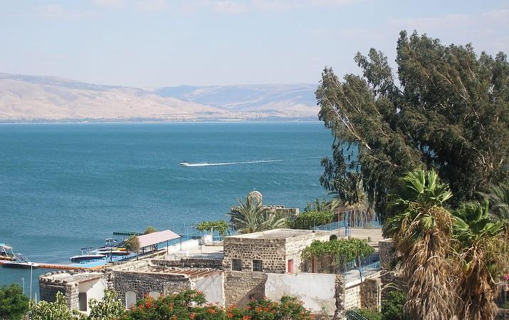 walk on water - sea of galilee