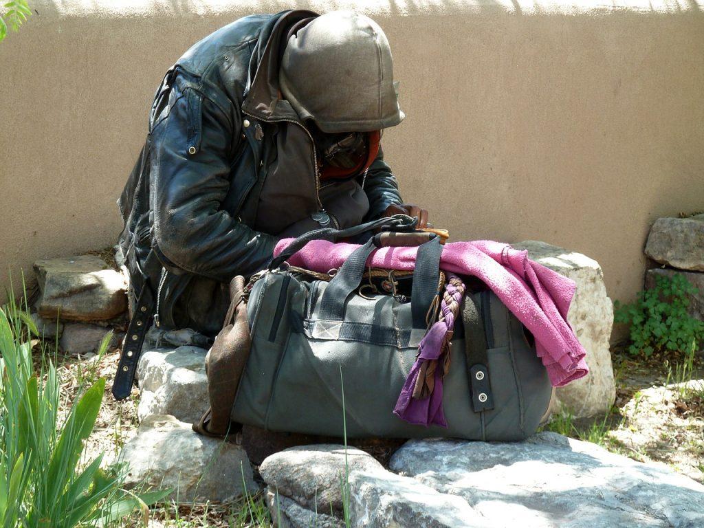 giving homeless
